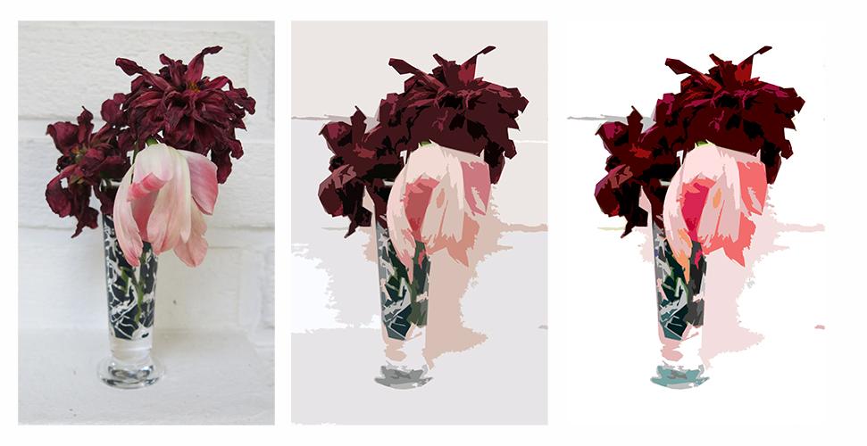 visne blomster